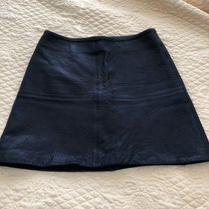 Skirts - Kookai black leather miniskirt 8e4e92490